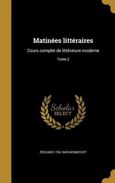FRE-MATINEES LITTERAIRES