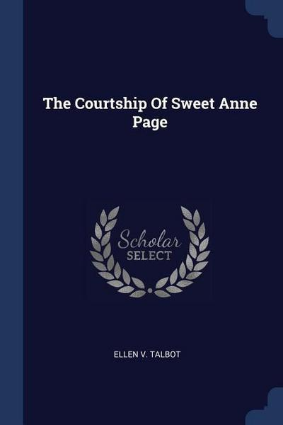 The Courtship of Sweet Anne Page