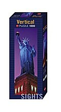 Puzzle, Sights: Statue of Liberty, 1.000 Teile, 1 Set