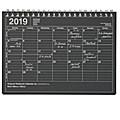 MARK'S 2019 Tischkalender S // Black