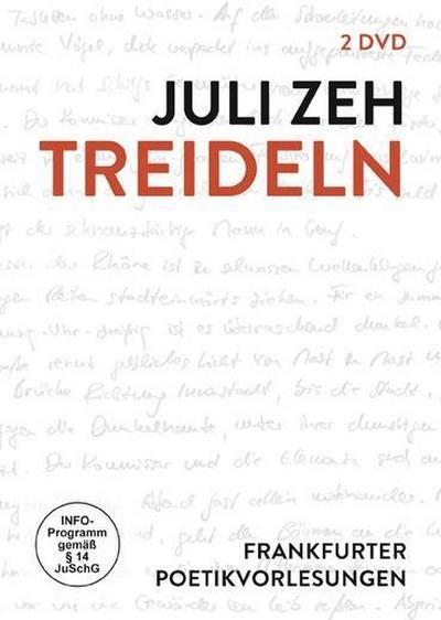 Juli Zeh - Treideln: Frankfurter Poetikvorlesung [2 DVDs]