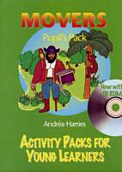ACT PACKS YOUNG LEARNERS MOVERS AL+CDR