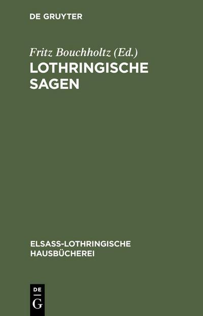 Lothringische Sagen
