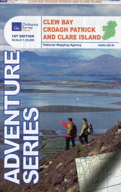 Touristische Karte Croagh Patrick