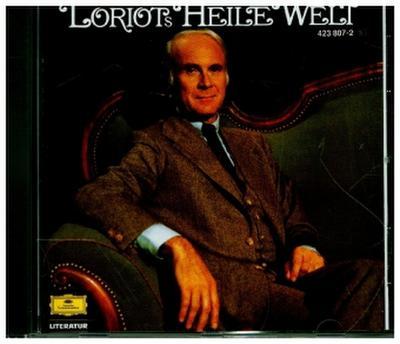 Loriot's Heile Welt, 1 Audio-CD