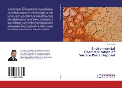 Environmental Characterization of Surface Paste Disposal