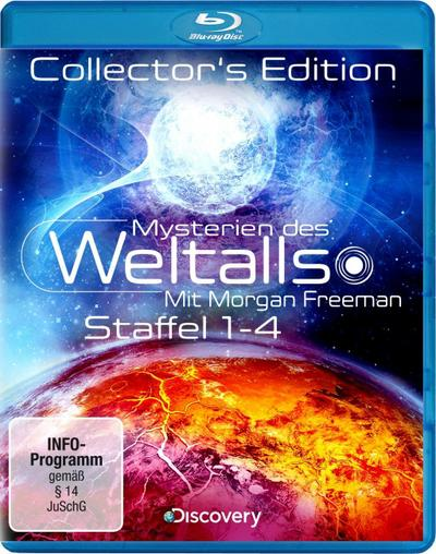 Mysterien des Weltalls - Collector's Edition - Staffel 1-4 (Limited Edition)
