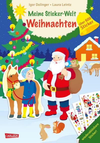Meine Sticker-Welt: Weihnachten: über 600 Sticker