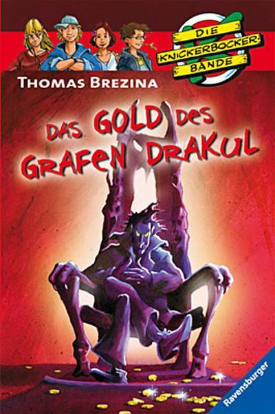 Das Gold des Grafen Drakul   ; Knickerbocker-Bande 54; Ill. v. Birck, Jan; Deutsch; , durchg. schw.-w. Ill. -