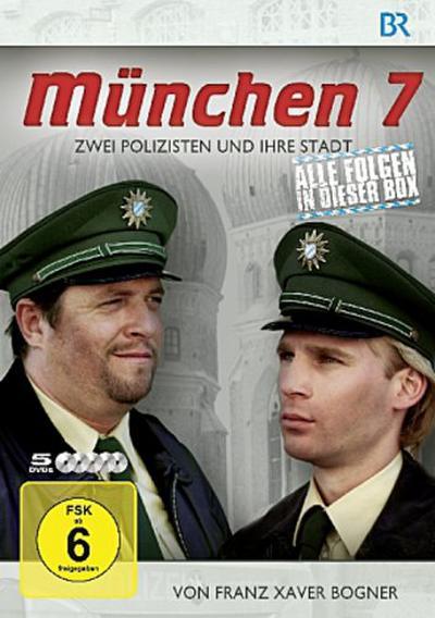 München 7 - Zwei Polizisten und ihre Stadt, 5 DVDs