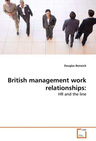 British management work relationships: