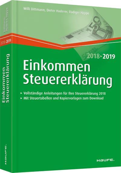 Einkommensteuererklärung 2018/2019