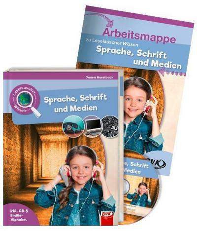 Leselauscher Wissen: Sprache, Schrift und Medien (inkl. CD & Braille-Alphabet). Set