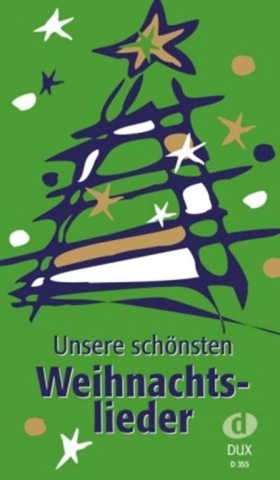 Dux Unsere schönsten Weihnachtslieder | Liederbuch im Pocketformat | NEU