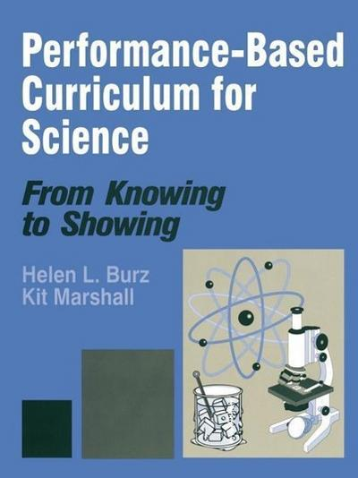 Performance-Based Curriculum for Science