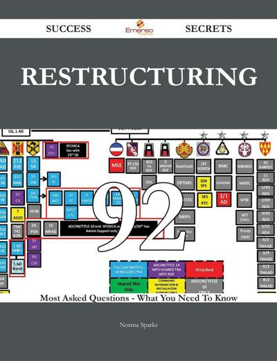 Restructuring 92 Success Secrets - 92 Most Asked Questions On Restructuring - What You Need To Know