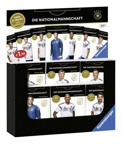 "Verkaufs-Kassette ""Ravensburger Minis - Die Nationalmannschaft""; Ravensburger Minis; Deutsch"