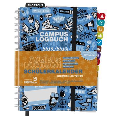 campuslogbuch-schule-2018-19-mehr-als-nur-ein-schulerkalender-hausaufgabenplaner-terminkalender-