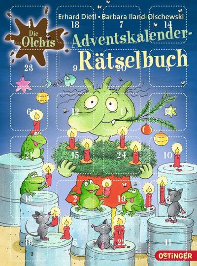 Die Olchis. Adventskalender-Rätselbuch; Ill. v. Stickel, Stephanie; Deutsch