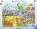 Fröhliche Meeresbewohner