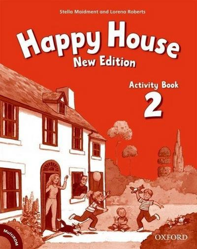 Happy House, New Edition Activity Book, w. Multi-ROM