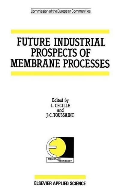Future Industrial Prospects of Membrane Processes