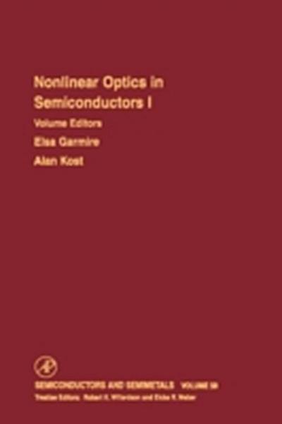Nonlinear Optics in Semiconductors I
