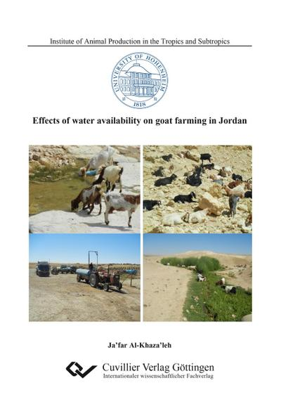 Effects of water availability on goat farming in Jordan
