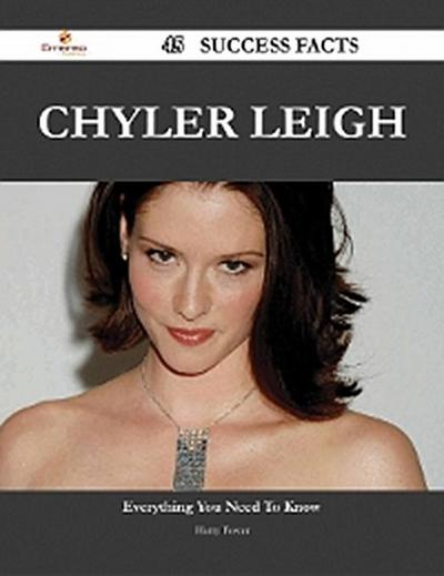 Chyler Leigh 45 Success Facts - Everything you need to know about Chyler Leigh