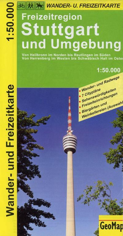 GEOMAP WK Stuttgart und Umgebung 50T