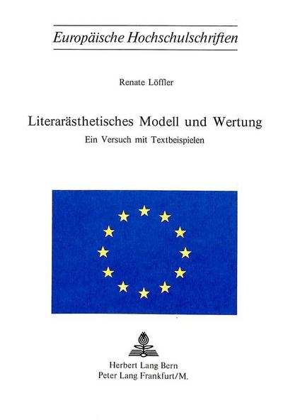 Literarästhetisches Modell und Wertung