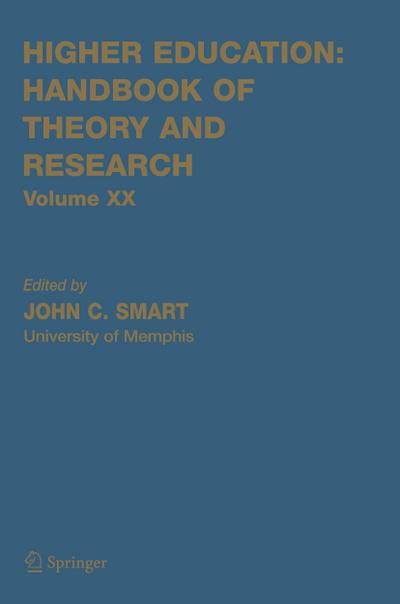 Higher Education. Handbook of Theory and Research 20