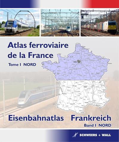 Eisenbahnatlas Frankreich 01 NORD