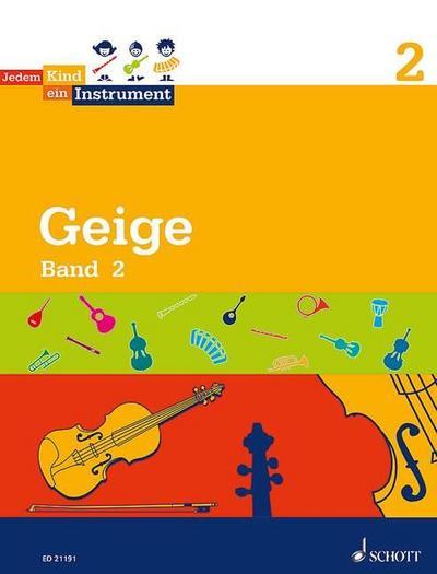 Jedem Kind ein Instrument. Band 2 - Geige