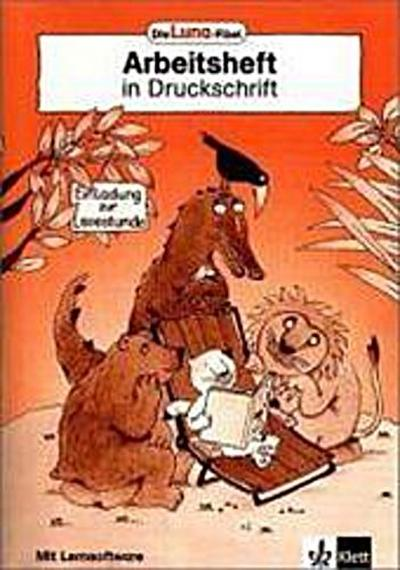 Die Luna-Fibel. Arbeitsheft in Druckschrift mit CD-ROM. Allgemeine Ausgabe