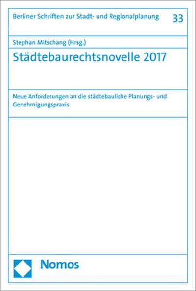 Städtebaurechtsnovelle 2017