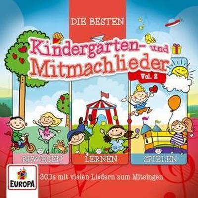3er Box 02 (Die besten Kindergarten- & Mitmachlieder)