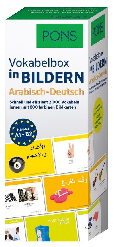 PONS Vokabelbox in Bildern Arabisch-Deutsch