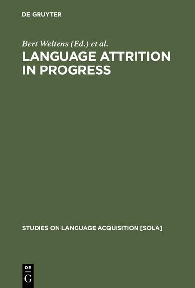 Language Attrition in Progress