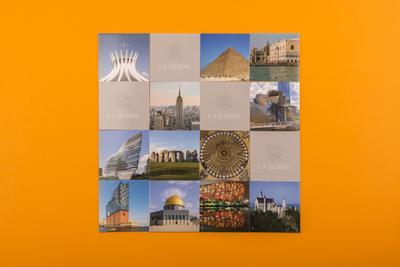 Weltarchitektur   World Architecture. Memo; .