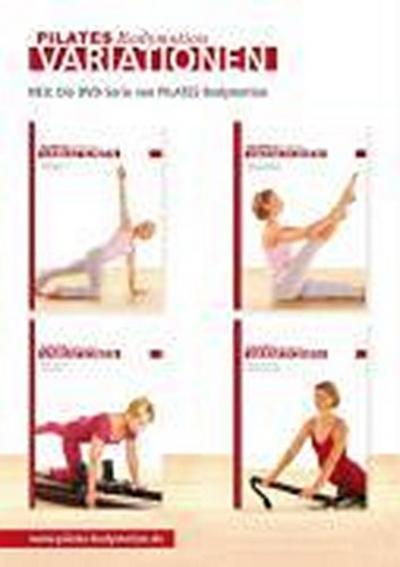 Pilates Bodymotion Variationen Matwork Level 1 bis 3 + Allegro Level 1 bis 3