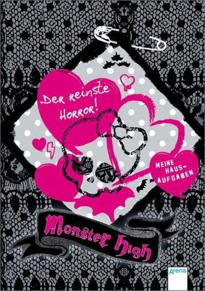 Monster High - Der reinste Horror!; Meine Hausaufgaben   ; Deutsch;