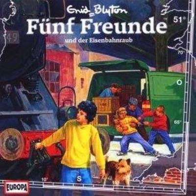 Fünf Freunde 051: ... und der Eisenbahnraub