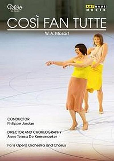 Mozart - Cosi fan tutte (Paris, 2017) - 2 Disc DVD