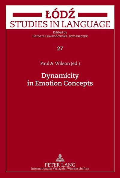 Dynamicity in Emotion Concepts