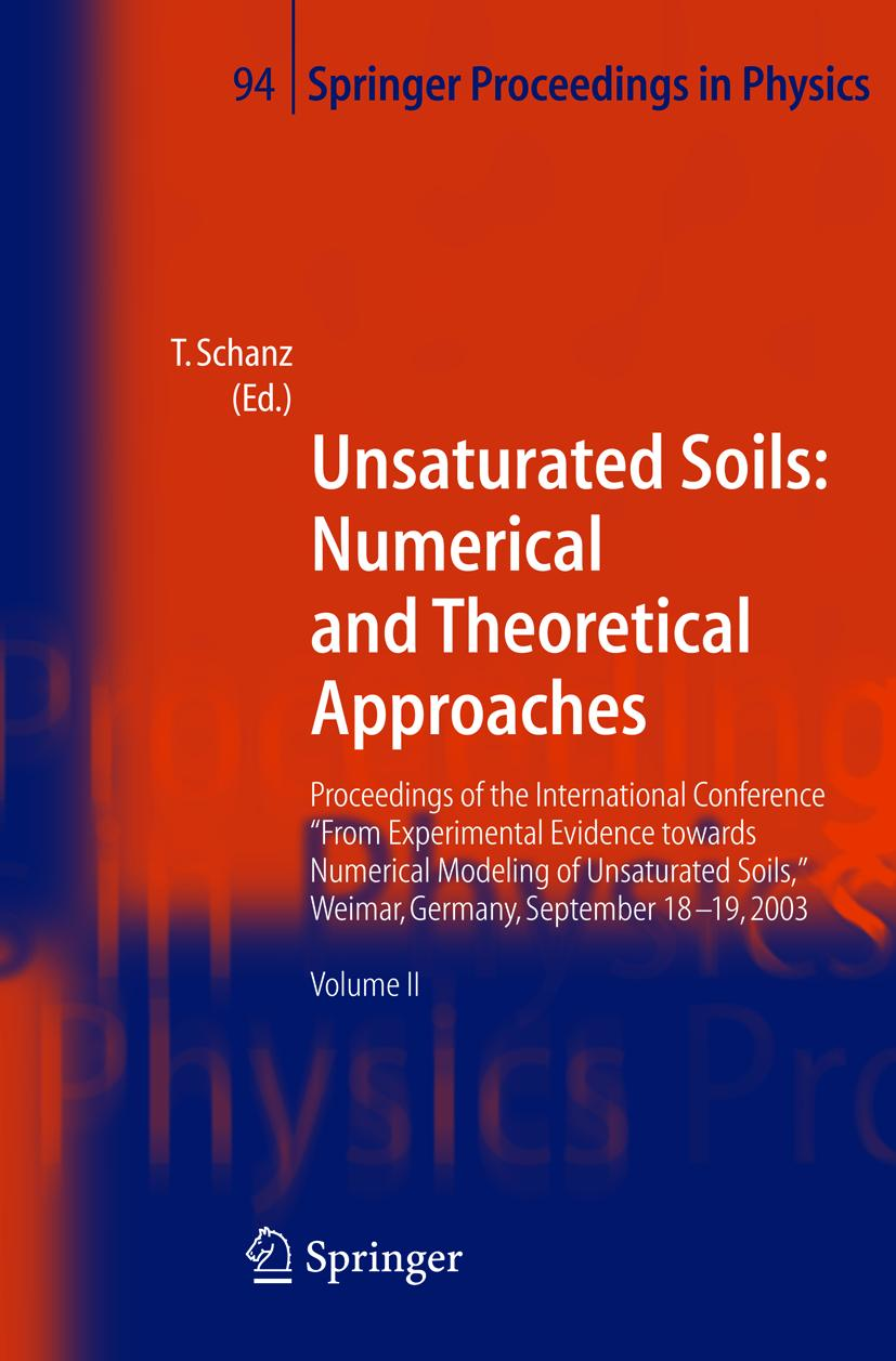 Tom Schanz / ISSMGE: Numerical and Theoretical Approaches9783540211228