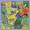 """Prokofieffs """"Peter und der Wolf"""": nach dem Original frei erzählt von Albrecht Trebies; Notenbeispiele für Kinder"""