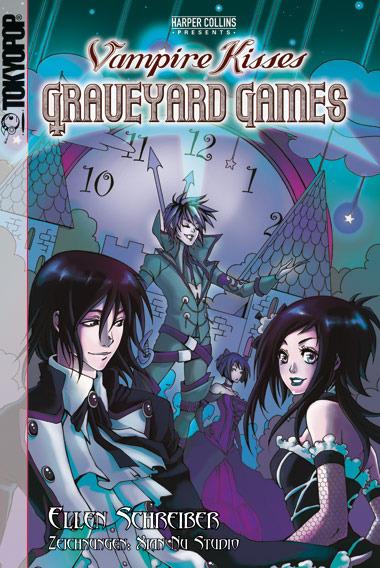 Vampire Kisses: Graveyard Games, Ellen Schreiber