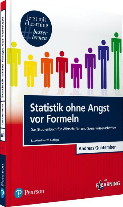 Statistik ohne Angst vor Formeln inkl. MyLab