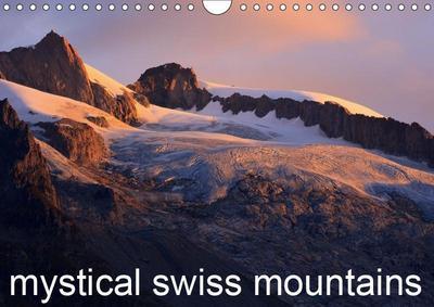 Mystical Swiss Mountains (Wall Calendar 2019 DIN A4 Landscape)
